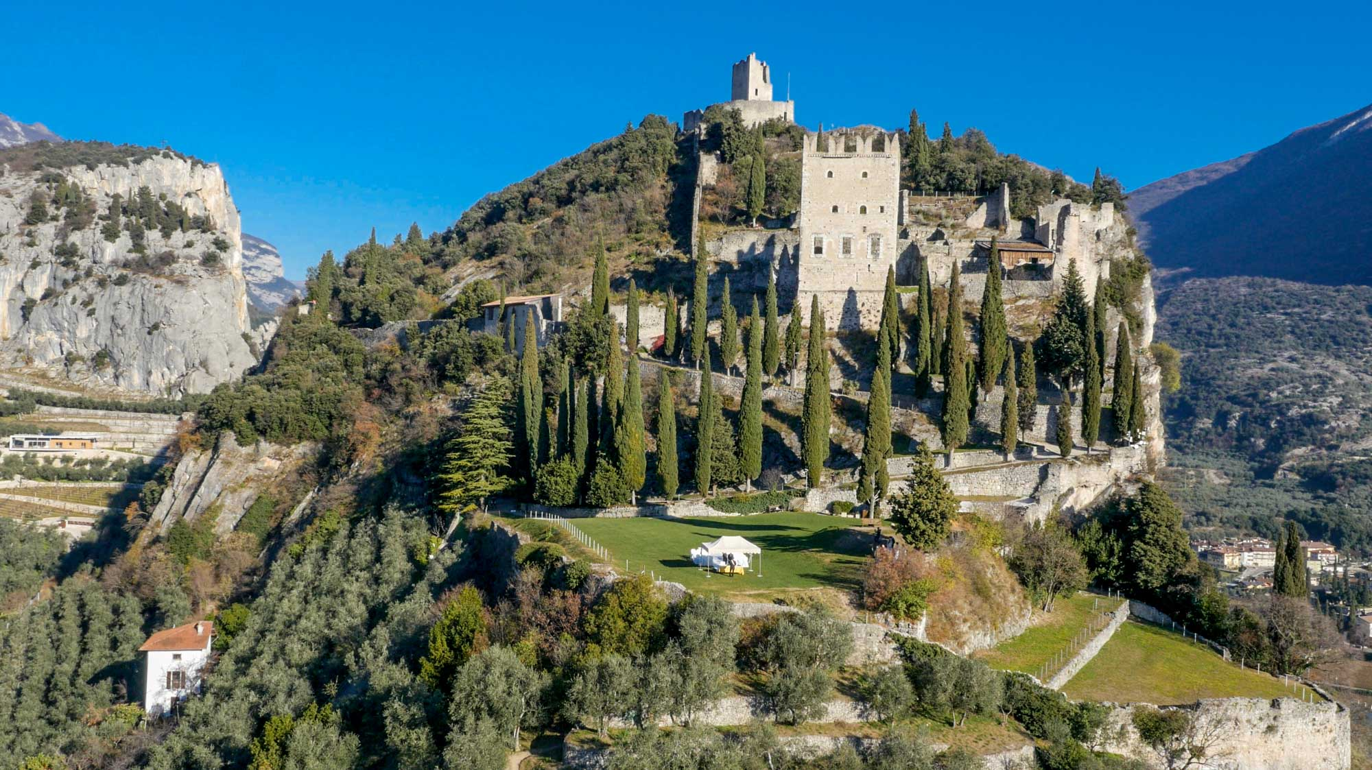 Your Wedding or Love recurrence at Arco Castle - Lake Garda, Trentino