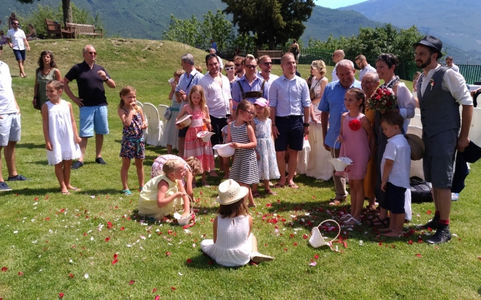 This Wedding location is very suitable for children...