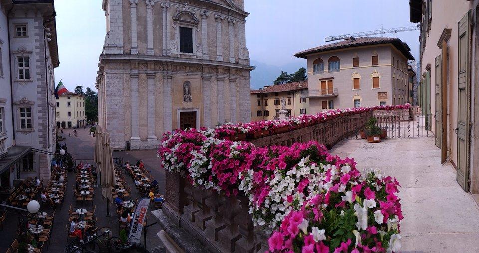unsere exklusive Terrasse, mit einem privilegierten Blick..