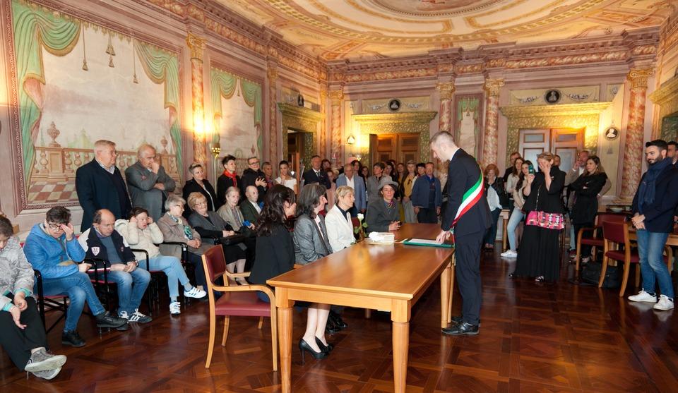 Rita and Sabrina, from Italy - Civil Wedding